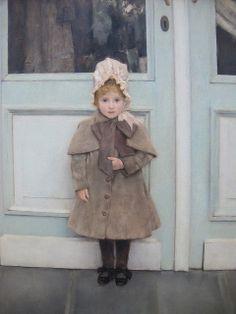 Fernand Khnopff, Portrait of Jeanne Kefer, 1885