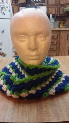Seahawk infinity scarf