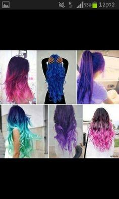 I want hair like those!! <3