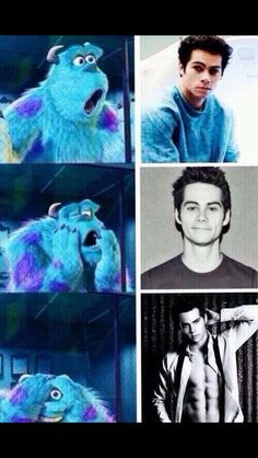 Me while Looking and watching DylanO'Brien  #dylanobrien