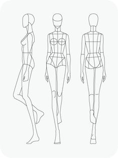Download Fashion Figure Templates – Prêt-à-Template