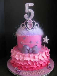 princess cake--wonder if I could attempt something like this for Stella's birthday...