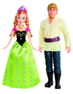 Holidays Gifts: Disney Frozen Anna and Kristoff Doll As Christmas Gift For Kids