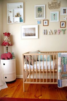 add some throw pillows and a quilt instead of a bumper pad and crib skirt?