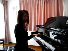 親指の支え(和音の練習) - YouTube