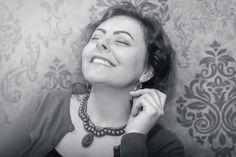 Smiles and necklaces – Alex Gurau Photo Female Portrait, Fashion Necklace, Crochet Earrings, Portraits, Necklaces, Smile, Photography, Women, Photograph