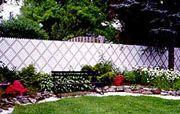 Chain Link Privacy Screening & Inserts - Diagonal Inserts - Aluminum Slats - 4 Ft. High