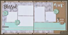 Simple, nice colors, like the Washi tape accents