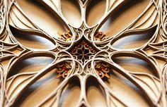 Layered laser cuttet sheets 4 (by eric standley)