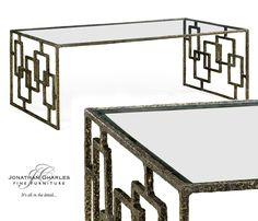 Brass coffee table #jonathancharles #jonathan_charles_russia #jonathancharlesrussia #jonathancharlesfurniture