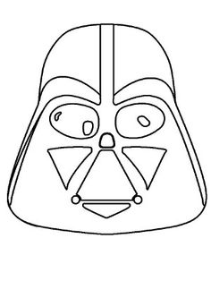 Masks coloring page 23