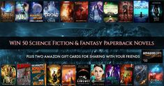 MASSIVE SFF Paperback Giveaway