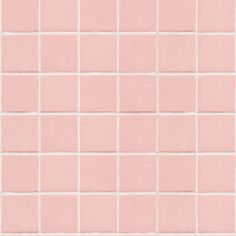 Pink tile wallpaper is a midcentury decor dream. Straight out of the this playful and feminine wallpaper will lead you to your Pink Palace. Pastel Bathroom, Pink Tub, Beige Wallpaper, Pink Palace, Pink Tiles, Wallpaper Calculator, Tiles Texture, Traditional Wallpaper, Dream Decor
