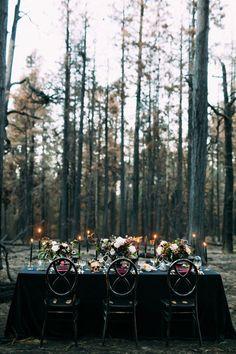 Forest Wedding, Fall Wedding, Dream Wedding, Geek Wedding, Samhain, Witch Wedding, October Wedding, Burgundy Wedding, Ivory Wedding