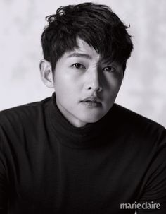 Song Joong Ki Models Fall Threads for Marie Claire Korea November Issue Song Hye Kyo, Song Joong Ki, Asian Actors, Korean Actors, Hot Actors, Actors & Actresses, Marie Claire, Descendants, A Werewolf Boy