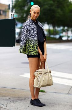 Soo Joo Park, Model | Street Fashion | Street Peeper | Global Street Fashion and Street Style