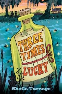 ThreeTimesLucky 198x300 Review of the Day: Three Times Lucky by Sheila Turnage