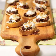 Fig and Goat Cheese Bruschetta (Cooking Light)