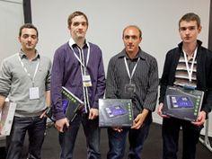 Les finalistes de Boost Your Code 2012 ! R.-A.Cherrueau, S. Coavoux, C. Desclaux, S. Rannou