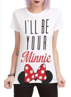 Hot Topic Women's Disney I'll Be Your Minnie T-Shirt