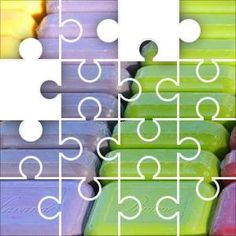 Bars of Soap Jigsaw Puzzle, 67 Piece Classic.