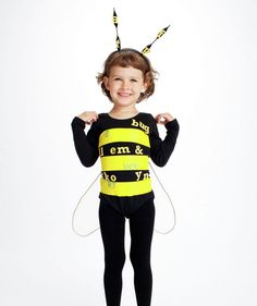 DIY Spelling Bee Costume - click through to find out how to make it.