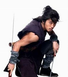 Jang Hyuk in Chuno. The First historical Korean drama I ever watched and loved it. Great soundtrack too.