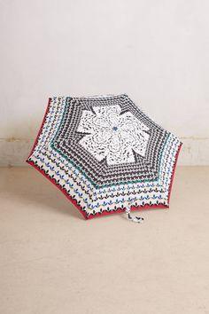 Serrate Drop Umbrella - Anthropologie.com