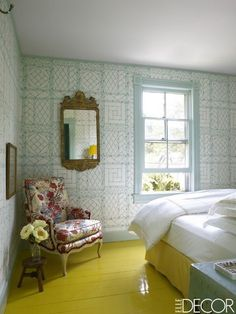 Yellow Rooms - ELLEDecor.com