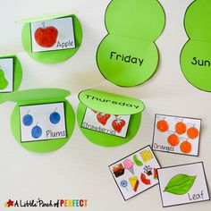 Hungry Caterpillar Flap Book Craft and Free Template - Very Hungry Caterpillar Printables, Hungry Caterpillar Craft, Toddler Learning Activities, Spring Activities, Beginning Of Kindergarten, Preschool Kindergarten, Preschool Activities, Book Activities, Chenille