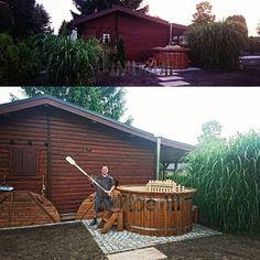 Badetonne mit Kunststoff, Sylvia Stölzel, Chemnitz, Deutschland    timberin.com    #badezuber #nederland #nederlands #netherlands #germany #deutschland #austria #Österreich #uk #switzerland #schweiz #vildmarksbad #udeliv #livskvalitet #danmark #spa #france #bainnordique #garten #jardin #garden #woodfiredhottub #badestamp #norge #norway #badtunna #sverige #sweden    #Regram via @timberin.mb