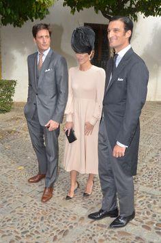Casilda, sobrina de Naty Abascal, se casa en Sevilla con Rafael Medina como padrino