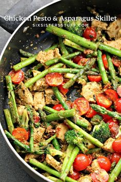 Asparagus Skillet, Chicken Asparagus, Recipes With Asparagus, Asparagus Meals, Healthy Menu Plan, Cooking Recipes, Healthy Recipes, Advocare Recipes, Healthy Asparagus Recipes