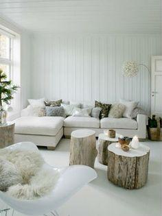 Salones, Lounge: acogedor, blancos