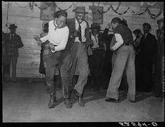 Nov. 1939 - Jitterbugging in Negro juke joint, Saturday evening, outside Clarksdale, Mississippi (LOC)