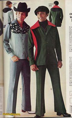 Plaid Stallions : Rambling and Reflections on '70s pop culture: Col. Kentucky and Julius Lovechild Bad Fashion, Retro Fashion, Vintage Fashion, Mens Fashion, Retro Men, Silhouette, Fashion History, Shirt Style, Cool Outfits