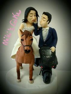#weddingcaketopper #milliscake www.milliscake.jimdo.it