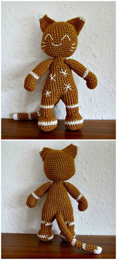 Crochet The Gingerbread Cat Amigurumi Pattern - Crochet Amigurumi - 225 Free Crochet Amigurumi Patterns - Page 3 of 4 - DIY & Crafts