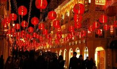 Macau is the perfect destination for 2020 Chinese New Year trip if you have a penchant for cross-culture hubs of the world Chinese New Year 2014, Chinese Holidays, New Year's Eve Celebrations, New Year Celebration, New Years Eve 2015, Year 2016, Year Of The Monkey, Cheap Holiday, Lunar New