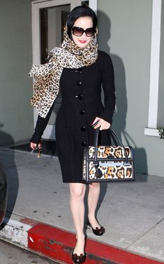 Dita Von Teese wearing #MelissaUltragirl by #VivienneWestwood. #Anglomania #MelissaShoes
