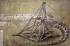Leonardo da Vinci - Excavating Machine, study