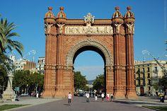 Barcelona:  Arc de Triomf