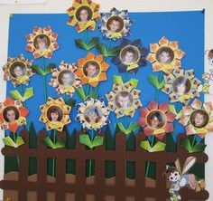 Paper Crafts For Kids, Preschool Crafts, Diy And Crafts, Arts And Crafts, Orla Infantil, Classroom Wall Decor, Birthday Charts, Collaborative Art Projects, Spring School