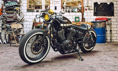 Yard Built XV950 Kingstom Customs 'The Face' - the Bike Shed