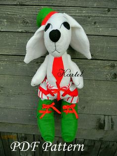Excited to share the latest addition to my #etsy shop: Christmas Elf Felt dog Felt Doll Christmas ornaments Sewing PDF Pattern Baby Sewing Pattern Felt Toy Soft Toy PDF Baby Gift Felt Pattern http://etsy.me/2iZOyIj #materialy #novyjgod #ite #christmaself #feltdoll #chr