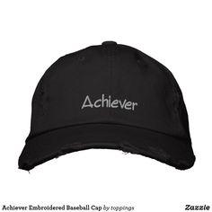1cf53e86415 Achiever Embroidered Baseball Cap