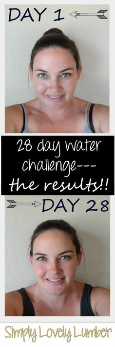 Drink enough water! Simply Lovely Lumber 28 Day Water Challenge Results Drink enough water! Water Challenge, Diet Challenge, Health And Beauty, Health And Wellness, Fitness Diet, Health Fitness, Senior Home Care, I Work Out, Diet Plans To Lose Weight