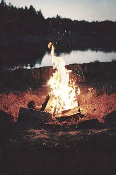 camp fire..... Love it!