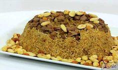 ضيفي الكبدة إلى وصفة الأرز بالمكسرات لطعم لذيذة: المقادير 2 كوب أرز 3 كوب شوربة لحم أو دجاج 2 معلقة كبيرة قرفة 4 معلقةسكر 6 معالقزبيب ربع…