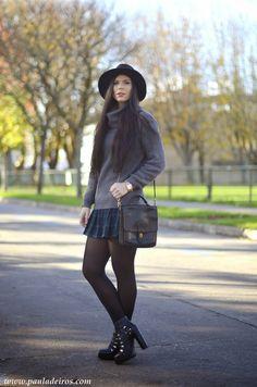 PAULA DEIROS SECRETS: Tartan Skirt #kissmylook